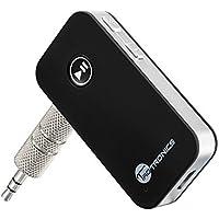 TaoTronics Bluetooth Empfänger Adapter Tragbare Bluetooth 4.0 Receiver Wireless Adapter Audiogeräte für Heim Auto Lautsprechersystem und Handy mit Stereo 3.5 mm Aux