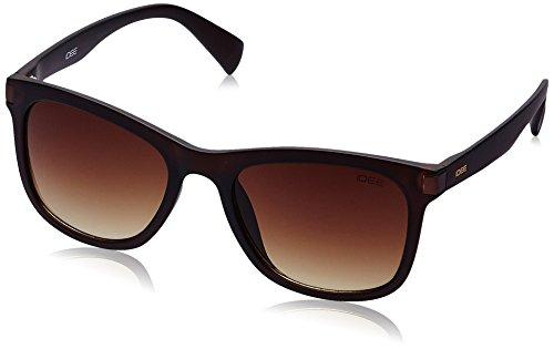 IDEE Gradient Square Men's Sunglasses - (IDS2089C5SG|52|Brown Gradient lens) image