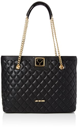 Love Moschino JC4012, Tote Donna, Nero (Black), 15 x 28 x 41 cm (B x H x T)