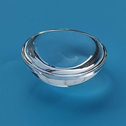 NO LOGO 1pc K9 optisches Objektiv Flach konvexer Spiegel 16 mm Durchmesser, 10 mm Brennweite, Projektor-Objektiv Physikalisches Experiment Lehrwerkzeug Dicke 1,5 mm (Farbe : Klar)