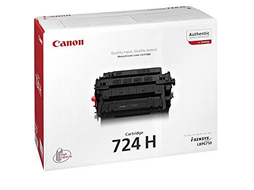 Preisvergleich Produktbild Canon 3482B002 CRG-724H Tonerkartusche schwarz hohe Kapazität 12.000 Seiten 1er-Pack