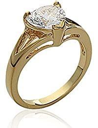 ISADY - Natara Gold - Women's Ring - 750/000 (18 Carat) Gold - Cubic Zirconia