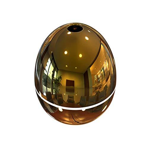 VORCOOL Humidificador de Aroma, purificador de Aire Mini difusor de Aceite Esencial de 50 ML USB para Sala de Estar de un Dormitorio de automóvil (Oro)