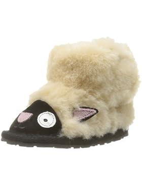 Emu Liitle Creatures Walker Lamb B10760 Unisex-Baby Krabbelschuhe