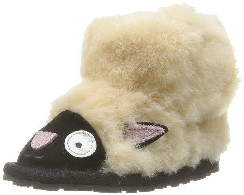 Emu Unisex-Baby Liitle Creatures Walker Lamb Krabbel- & Hausschuhe, Beige (Natural), M (Australia Herren-hausschuhe Emu)