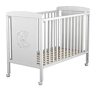 Cuna para bebé, modelo Oso Dormilón. Incluido el colchón, edredón y protector (regalo sonatina)