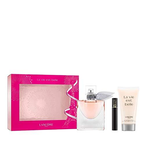 Lancôme La Vie Est Belle - Set di fragranze (Eau de Parfum, Bodylotion, Mascara), 82 milliliters