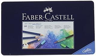 4ec9372db8c226 Faber-Castell 114260 Crayons de couleur ART GRIP AQUARELLE boîte ...