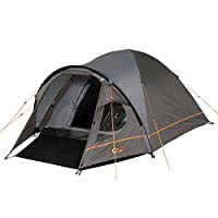portal outdoor bravo 3 lightweight, premium dome tent with fibreglass poles, porch and triple ventilation, sleeps up to 3 people - includes free storage bag