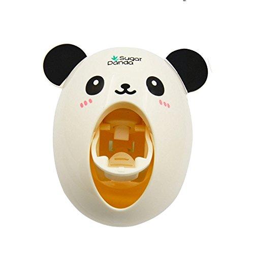Cartoon Panda automatische Squeezer Zahnpastaspender mit Suction Cup-Neuheit-Startseite Badezimmer Zubehör Gadget