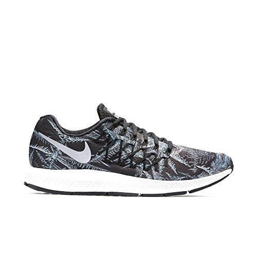 Nike Herren Air Zoom Pegasus 32 Solstice Laufschuhe, Schwarz/Silber (Blck/SLVR-Pr RFLCT P/Crystal), 47 1/2 EU (Crystal-nike Schuhe)
