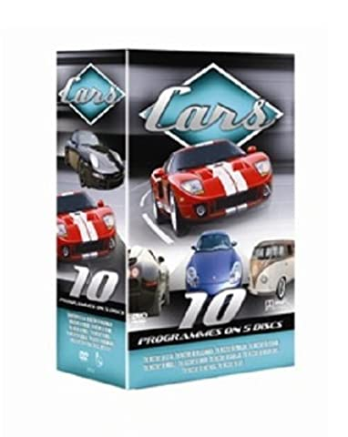 10 Pack: Cars (including History of GT-40, History Of Volkswagen,