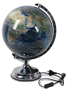 signes grimalt globe terrestre avec support lumineux 30 cm 25216sg cuisine maison. Black Bedroom Furniture Sets. Home Design Ideas