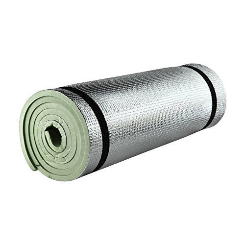 Isomatte mit Aluminiumbeschichtung / Alu-Thermomatte (oliv)