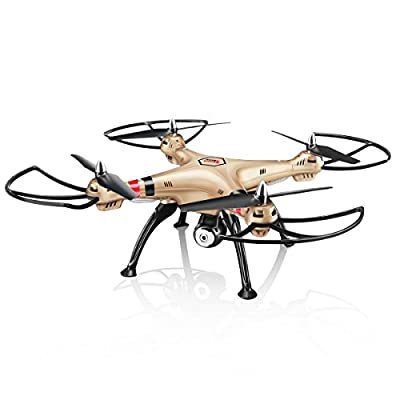 Syma X8HW Wifi FPV RC Quadcopter Drone Copter with HD Camera Altitude Hold and Headless Mode
