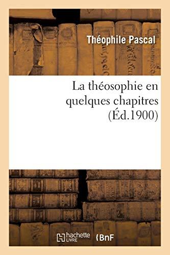 La théosophie en quelques chapitres