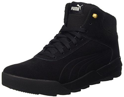 Puma Unisex-Erwachsene Desierto Sneaker Schneestiefel, Schwarz (Black 02), 40.5 EU