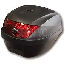 Top Case Topcase cae maletín Rome 28L para roller y moto negro