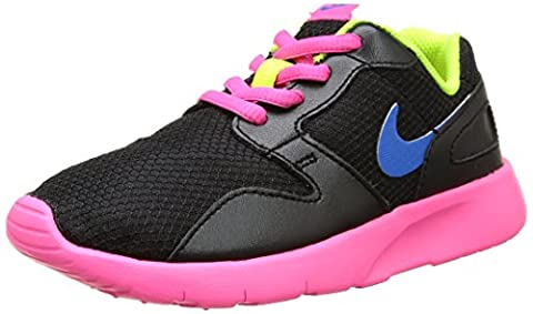 Nike Kaishi (Ps), Mädchen Turnschuhe , mehrfarbig - Schwarz / Blau / Rosa / Grün (Schwarz / Foto Blue-Rosa Pow-Volt) - Größe: EU 31