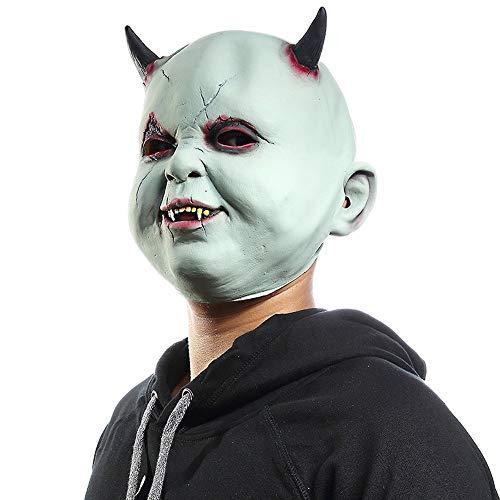 Little Devil Vampire Halloween-Maske Terrorist Zombie Haunted House Ankleidezimmer Escape Dress Up Requisiten Kopfbedeckung