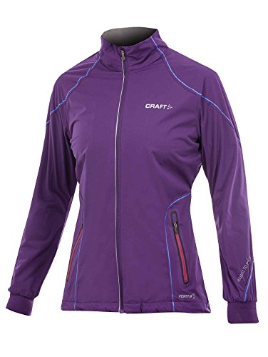 Craft Performance Veste de ski de XC High Function Veste pour femme S Violet - Vision