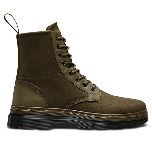 Dr.Martens Mens Combs 8 Eyelet Waxy Canvas Boots