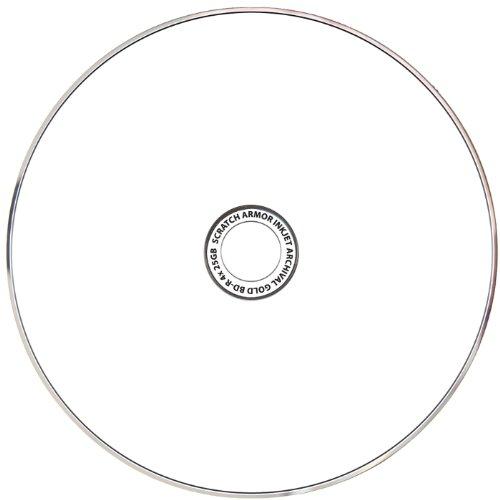 Delkin Europe - Campana da 10 dischi Blu-ray registrabili Archival Gold (foto, digitali, scrivibili)