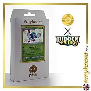Dartrix SV3/SV94 Variocolor - #myboost X Sun & Moon 11.5 Hidden Fates - Box de 10 cartas Pokémon Inglesas
