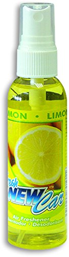Fresh New Car Duftspray Autoduft Raumduft 60 ml in der Duftsorte Lemon - Zitrone