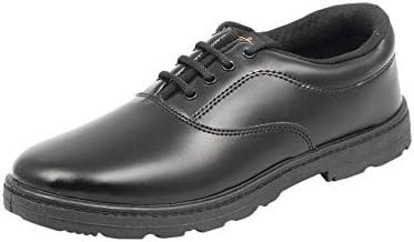 Lakhani Boys Black School Shoes