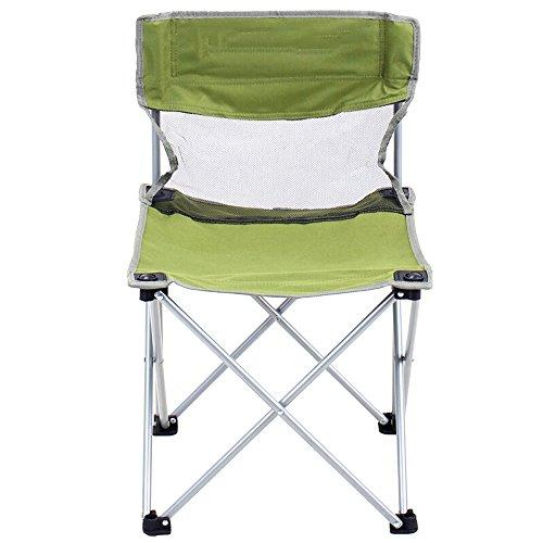 YUEDAI Klappstühle Tragbarer Klappstuhl Für Den Außenbereich Im Blauen (Color : Green, Size : M) -