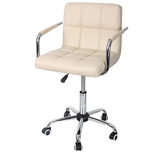 Fauteuil-de-Bureau-Sport-avec-Dossier-Rose-Hollylilfe-Chaise-Ordinateur-Excutif-360-degrs-rglable-en-Cuir-Faux-Hauteur-rglable-Flexible-45-60-cm-pour-le-salon-de-coiffure-le-bureau-le-salon