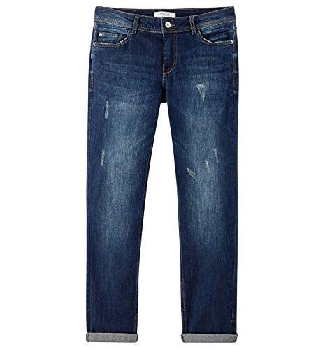 Promod Boyfriend-Jeans Blau Denim