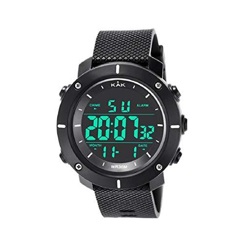 Vaycally Mode High-End-Männer 30 Meter wasserdichte elektronische Uhr Serie Männer High-Definition-Display Business Watch Business-serie Handy