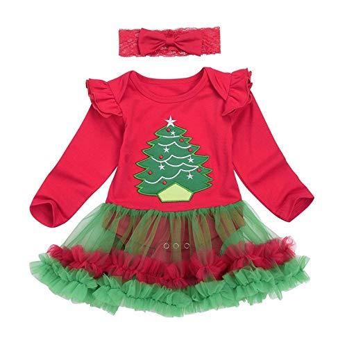 Nette Halloween Kuchen Designs - LYINHGL Weihnachts Neugeborene Baby-Kleidung Weihnachtsbaum Tutu