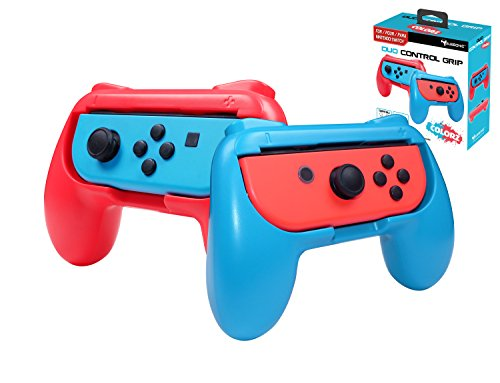 Subsonic SA5490 Griffe Controller für Joy-Cons Nintendo Switch Blau/Rot