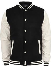 Urban Classics TB201 Herren Jacke Bekleidung Oldschool College Jacket