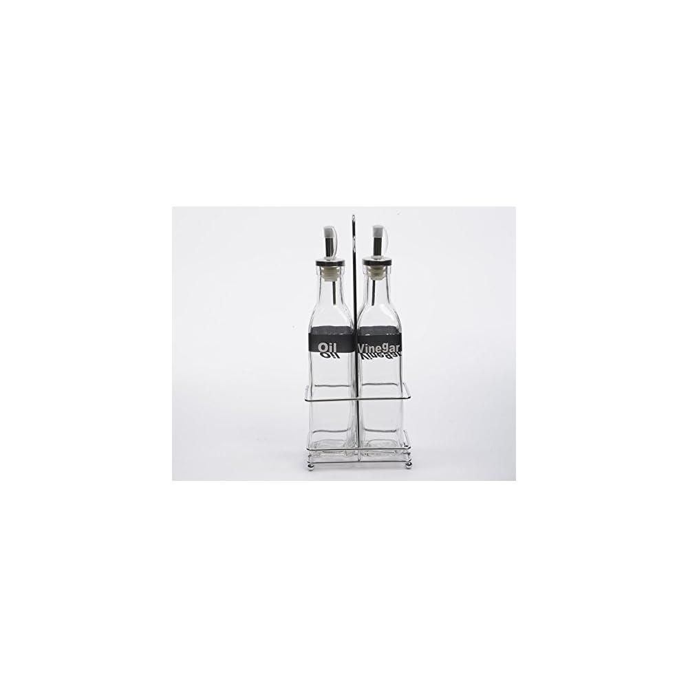 Glasflaschen Essigflasche Lflasche Essig Und Lflasche Mit Metallkorb