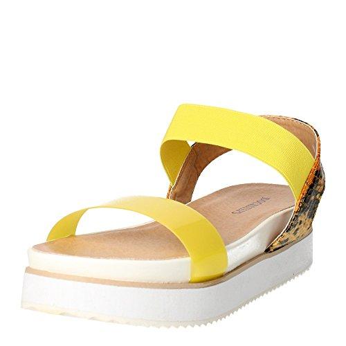 Docksteps DSE103498 Sandalo Donna Giallo