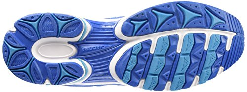 Diadora Shape 4 Scarpe Sportive, Unisex Adulto Azzurro/Bianco