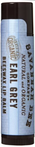 Lippenbalsam, Earl Grey, 0,15 oz (4,2 g) - Savannah Bee Company Inc - Anzahl 1 (Honey Company Savannah Bee)