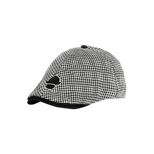Sanahy Gedrucktes Muster Sternchenmuster für Kinder Entenmaler Baskenmütze Jungen und Mädchen Allgemein Sommerhut Outdoor Hut