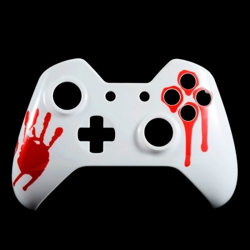 E Xtreme Rate Blood Hand Front Shell Face Plate Replacements Parts For Microsoft Xbox One Controller 41c8YqLdzPL