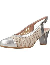 PITILLOS Zapatos de Tacón, Color Plateado, Marca, Modelo Zapatos De Tacón 5059V18 Plateado