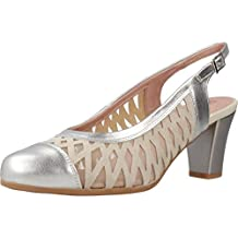 Zapatos de tacón, Color Plateado, Marca PITILLOS, Modelo Zapatos De Tacón PITILLOS 5059V18