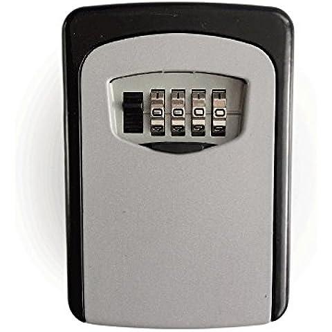 maDDma Tech Combinación Key Lock Box–Caja para llaves (más conveniente–Best Outdoor montado en la pared safe Caja para llaves–Set Su Propio Combinación–Ideal para Personas Mayores padres para llaves de