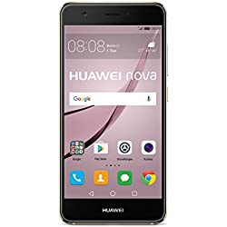 Huawei Nova Smartphone débloqué 4G(Ecran: 5 pouces - 32 Go - Double Nano-SIM - Android) Or