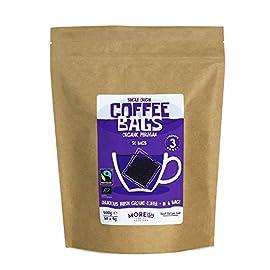 Moreish Coffee Bags – Organic Peruvian Fairtrade (50 Single Origin Coffee Bags)