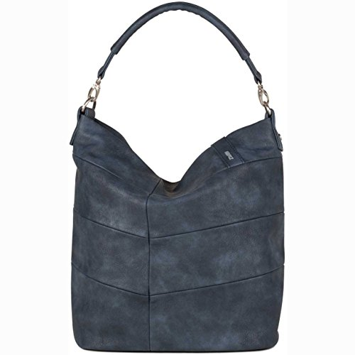 Due Tracolle In Lissy Denim Blu Denim 33x11x38 Cm
