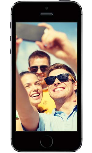 Apple iPhone 5S Gris Sidéral 16Go Smartphone Débloqué (Reconditionné Certifié)